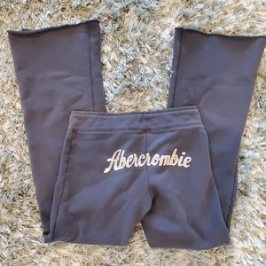 Abercrombie & Fitch Blue Sweatpants